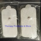 XL Replacement Electrode Pads (4) Extra X-Large Size for Digital Massagers/TENS