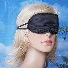 5X Charmeuse Silk Sleeping Mask Eye Cover Nap Blindfold Dbl Layer Light Protect