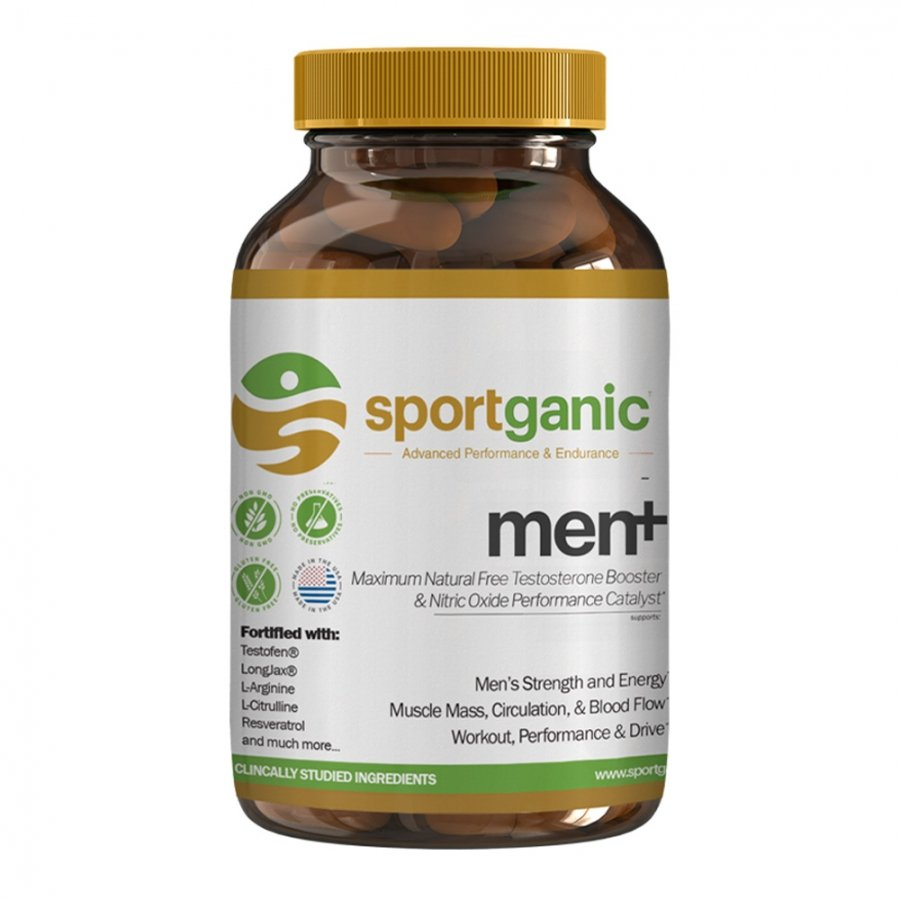 Sportganic Men+ Whole Body Health, Energy, and Sexual Vitality for Men
