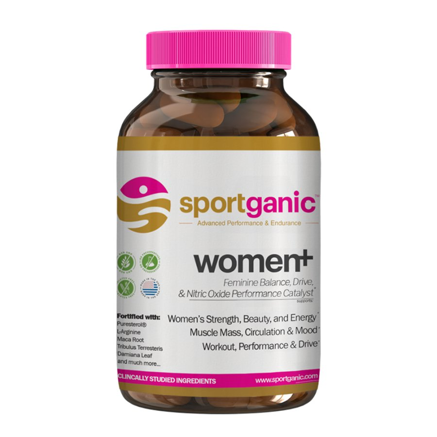 Sportganic Women+ Whole Body Health, Energy, Balance, and Sexual Vitality