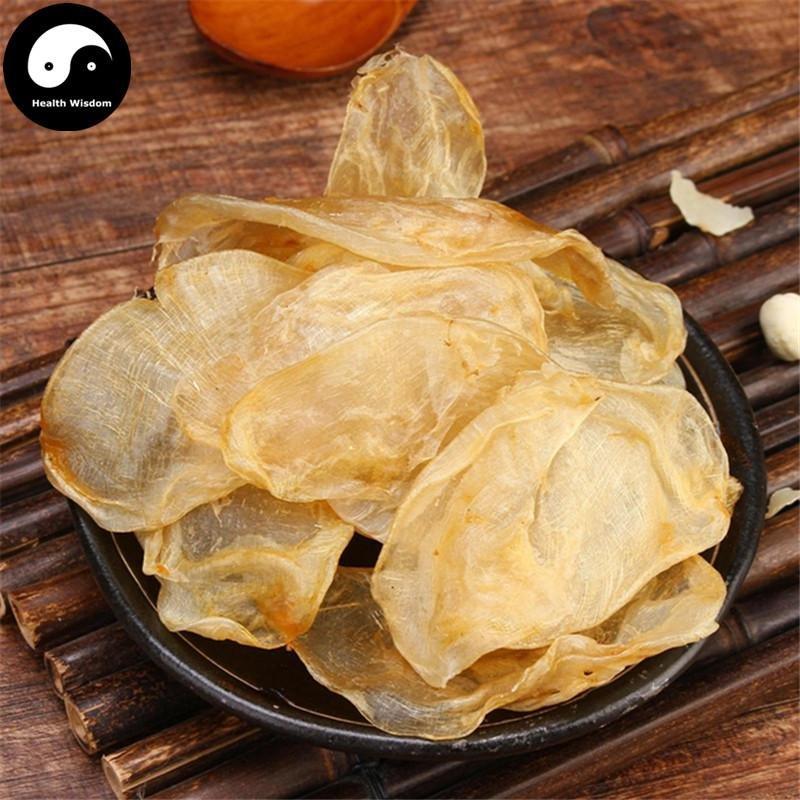 Hua Jiao Air Bladder 250g Yu Jiao Dried Yellow Croaker Fish Maw Tonic Collagen