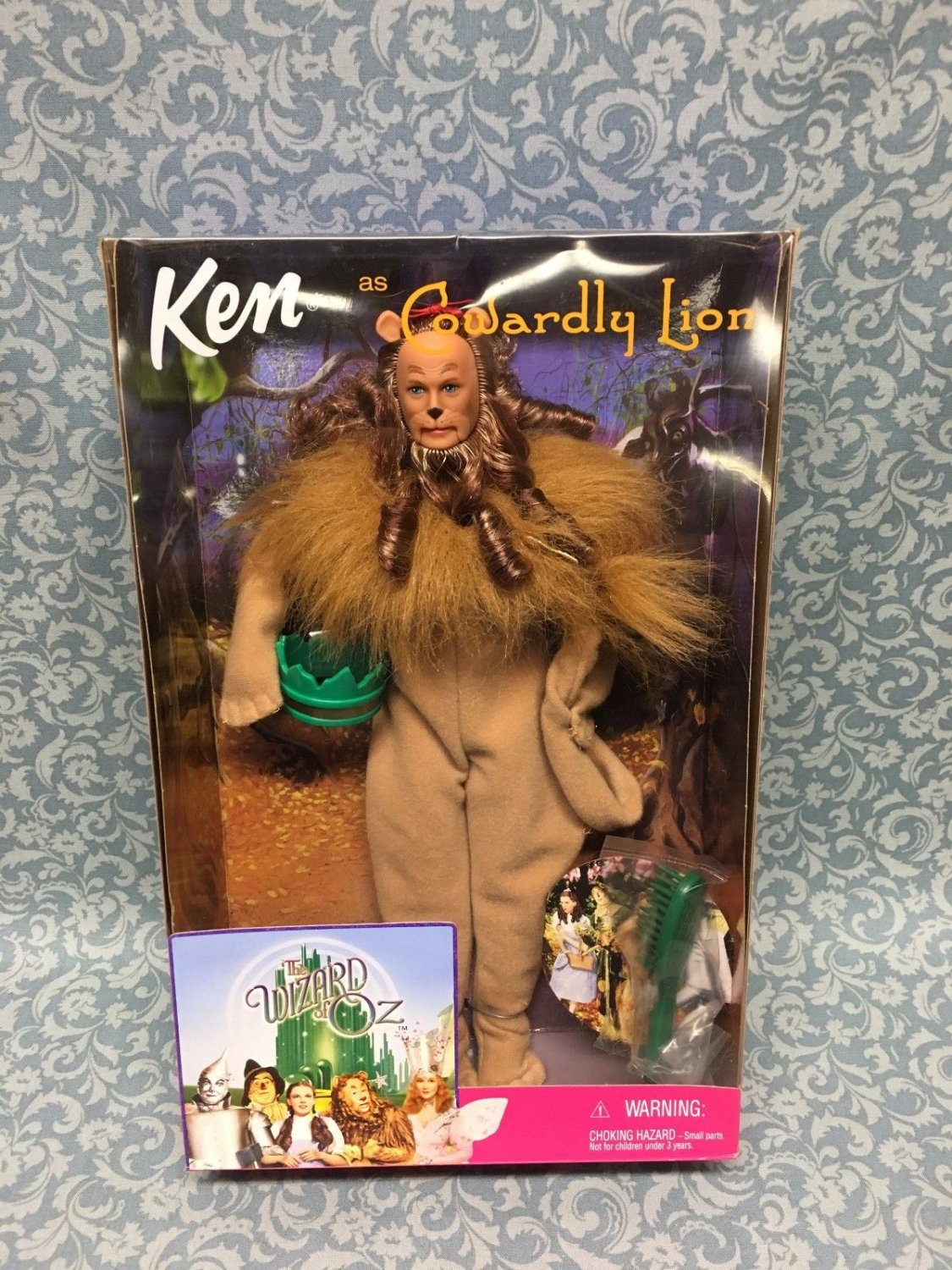 Cowardly Lion Barbie Collectable