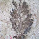 RARE ANTIQUE FRENCH LAUREL LEAF AWARD WITH PRETTY BOW