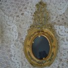 GORGEOUS ANTIQUE FRENCH FRAME WITH BOWS & GARLANDS FROM FRANCE