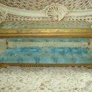 The BEST Rare Huge Antique Ormolu French Casket Box Vitrine Jewelry Box