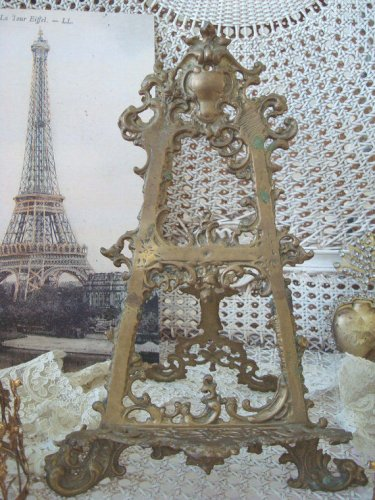 Ornate Large French Style Easel for Display