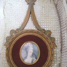 Gorgeous French Style Mme. Pompadour Wall Hanging With Bow