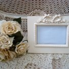 SHABBY FRENCH CHIC EXQUISITE BOW RIBBON PICTURE FRAME ****SO PRETTY***