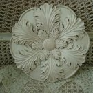 ESTATE SHABBY FRENCH CHIC PAINTED WALL PLAQUE #1  **SO PRETTY**