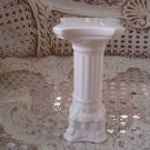 Vintage MINIATURE *TALL* Ceramic COLUMN To Sit Miniature Cherub Angel On