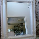 GORGEOUS  SHABBY FRENCH ORNATE PAINTED MIRROR ***BEAUTIFUL***