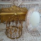 Charming Vintage Murano Venetian Mirror With Stand