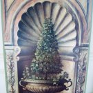SHABBY FRENCH CHIC TOPIARY OLD WORLD STYLE PICTURE WALL ART ***BEAUTIFUL***