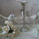 GORGEOUS SILVERPLATE ORNATE CHIC EPERGNE FLOWER DISPLAY PIECE ***BEAUTIFUL***