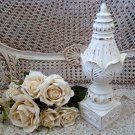 SHABBY PAINTED FRENCH STYLE FINIAL DECOR ***WONDERFUL***