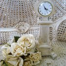 SHABBY FRENCH ORNATE CLOCK ***SO PRETTY***