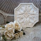 SHABBY FRENCH CHIC PAINTED UNIQUE SHAPE WALL PLAQUE ***AWESOME***