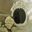 SHABBY FRENCH CHIC PAINTED SHELL PICTURE FRAME **SO PRETTY**
