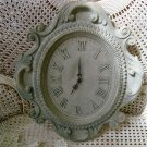 ESTATE FRENCH COUNTRY SCROLLY DECORATIVE WALL CLOCK **PRETTY** AS IS