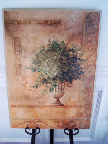 SHABBY FRENCH CHIC PLANT PICTURE WALL ART ***BEAUTIFUL***
