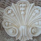SHABBY FRENCH SHELL CHIC PAINTED WALL PLAQUE **SO PRETTY**