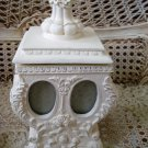 GORGEOUS SHABBY FRENCH ORNATE PHOTO HOLDER TRINKET BOX *****SO CUTE*****
