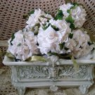 FIVE VINTAGE ROSES KISSING BALLS ****SO PRETTY***