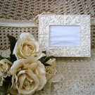 SHABBY FRENCH ORNATE CHIC FLOWERS PICTURE FRAME BOX ****SO PRETTY***