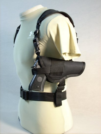 Black All American Shoulder Holster #8
