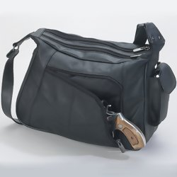 Embassy Genuine Leather concealed weapons Purse