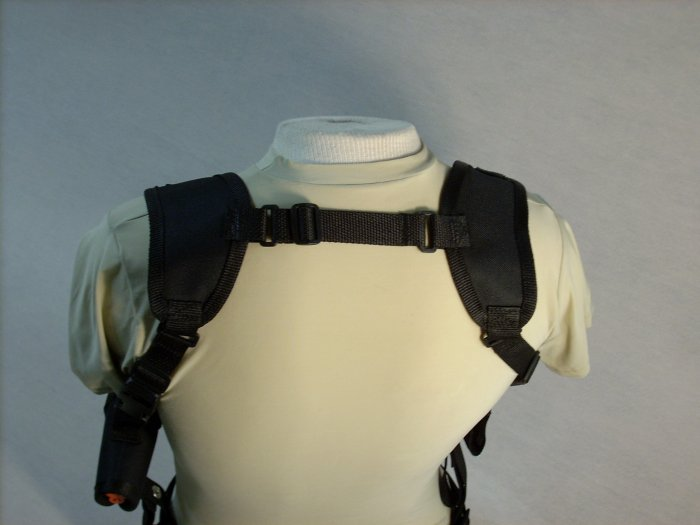 Black All American Shoulder Holster #7