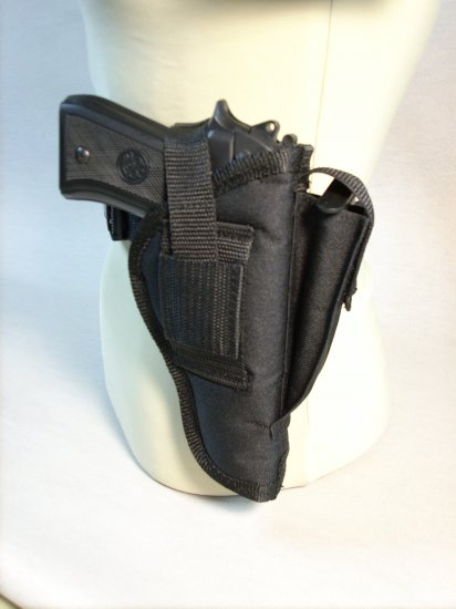 Black All American Side Holster #4