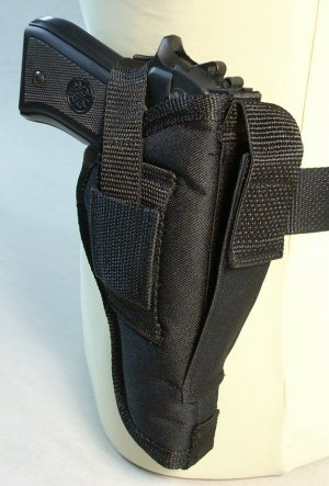 Black All American Side Holster #25