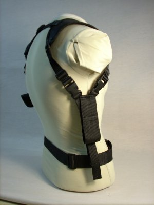 Black All American Shoulder Holster #3