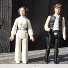 Princess Lea and hans solo figures