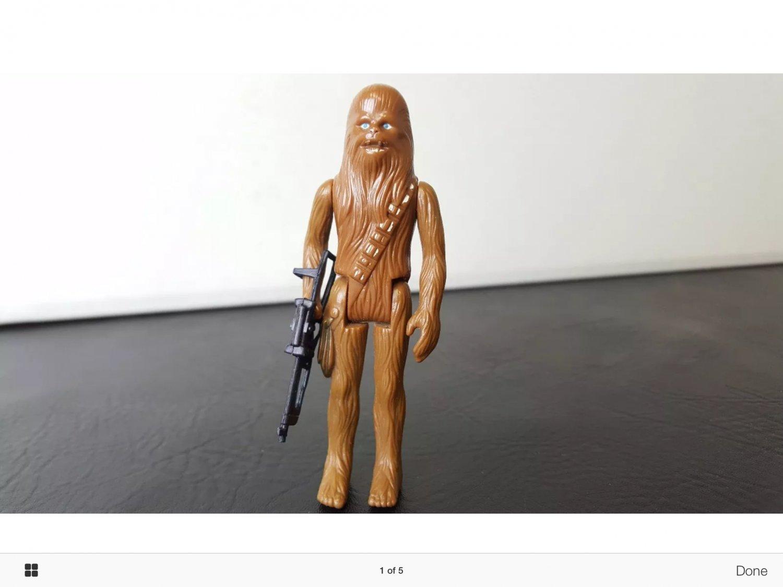 chewbacca action figure.  Rare