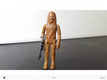 chewbacca action figure.  Rare