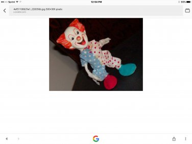 bozo the clown very rare