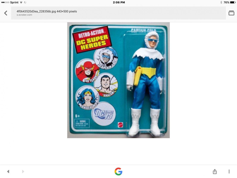 Vintage Captain Cold action figure