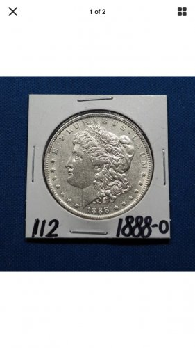 1888-O Morgan Silver Dollar $1 Coin Genuine High Grade Rare Date #K112
