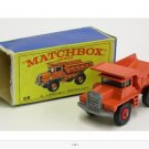 Vintage Matchbox lesney car. Still in box.