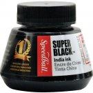 Speedball 2 oz Super Black India Ink Calligraphy drawing art crafts painting stamps paper ephemera
