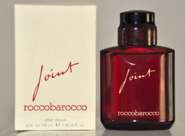 Roccobarocco Joint  After Shave 100Ml 3.38 Fl. Oz. Man Rare Vintage Old 1993
