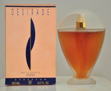 Aubusson Desirade Eau de Toilette 100Ml 3.4 Fl. Oz. Woman Rare Vintage Old  1990