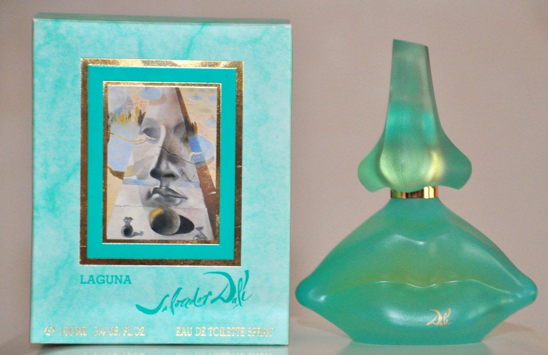 Salvador Dalì Laguna Eau de Toilette Spray Edt 100Ml Rare Vintage First Version 1991