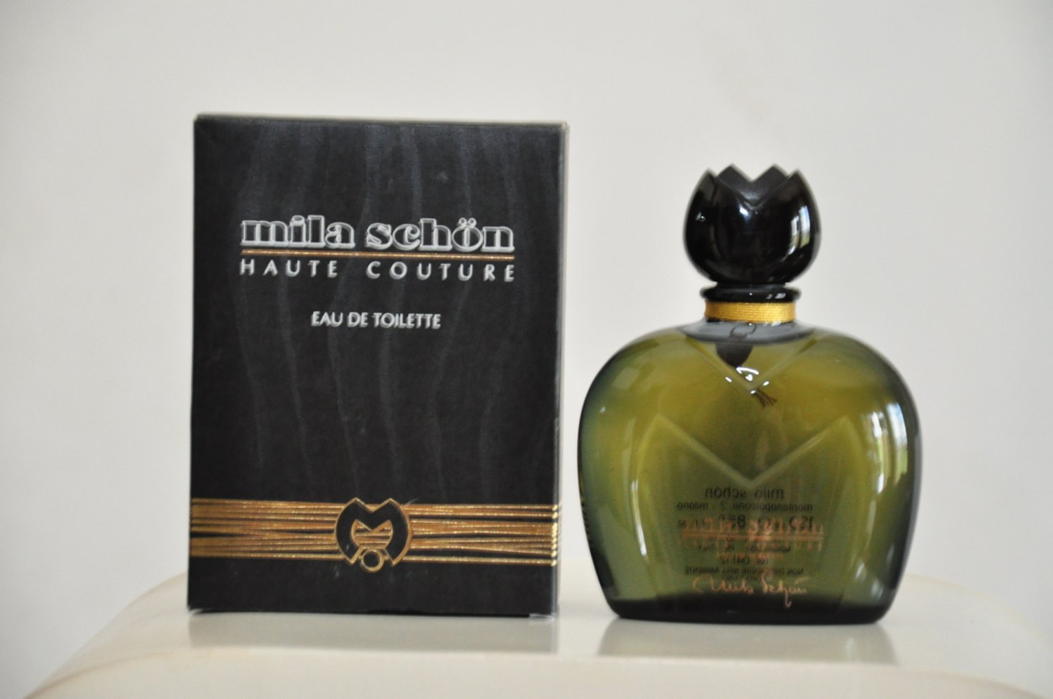 Mila Schön Haute Couture Eau de toilette for woman Edt 120ML 4 Fl. Oz. Rare Vintage 1981
