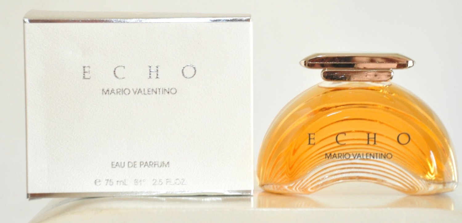 Echo Mario Valentino for woman Eau de Parfum Edp 75ML 2.5 Fl. Oz. Rare Vintage Old 1989