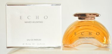 Echo Mario Valentino for woman Eau de Parfum Edp 75ML 2.5 Fl. Oz. Rare Vintage Old 1989