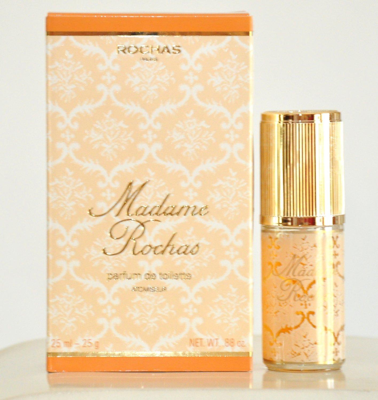 Rochas Madame Rochas Parfum de Toilette 25Ml Spray Perfume Woman Rare Vintage Old 1960