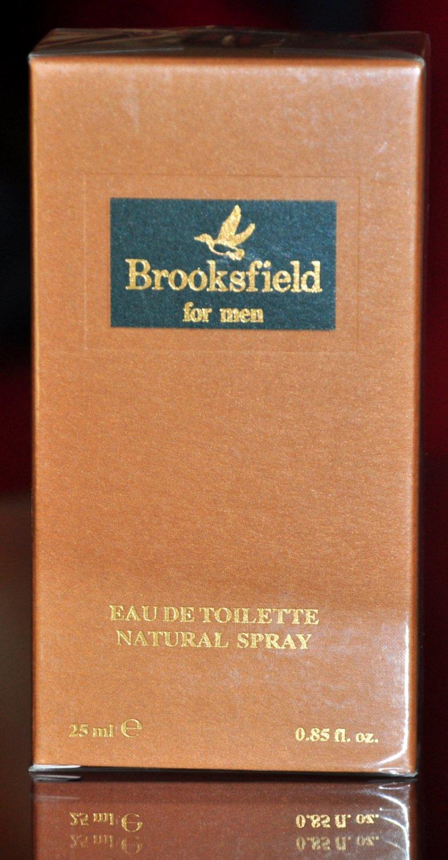 Brooksfield For Men Eau De Toilette Edt 25ML 0,84 Fl. Oz. Spray Man Rare Vintage Old 1993